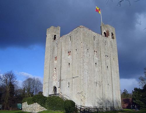 Hedingham, un castillo medieval en Essex