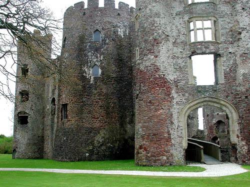castillo laugharne