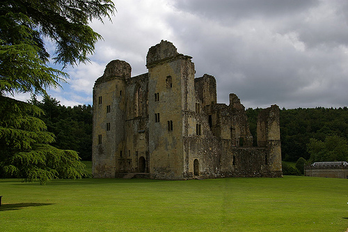Castillo Old Wardour