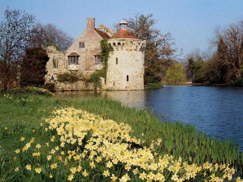 Los jardines del Castillo Scotney, belleza en Kent