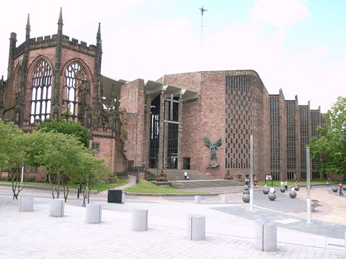 La Catedral de Coventry, un ave fénix