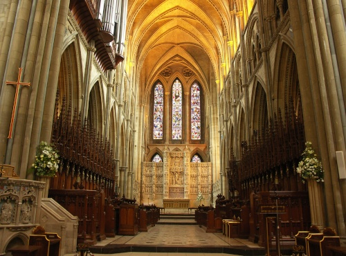La Catedral de Truro, en el condado de Cornualles