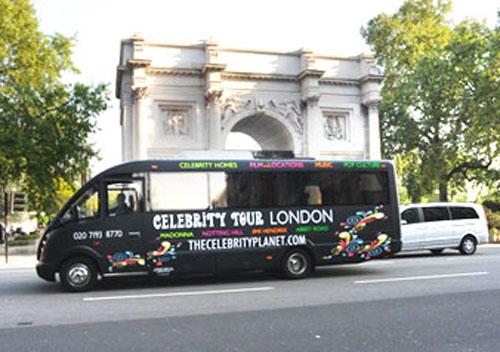 Celebrity Bus Tour