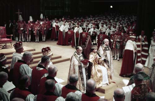 coronacion de isabel II
