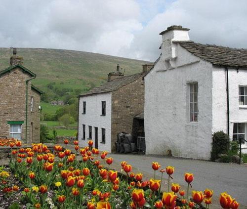 Dent, un pequeño pueblo en Cumbria