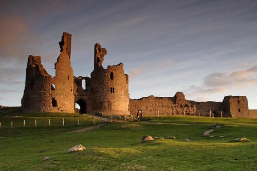 Las ruinas del Dunstanburgh Castle