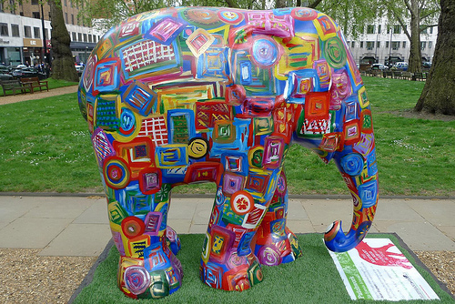 The Elephant Parade toma Londres