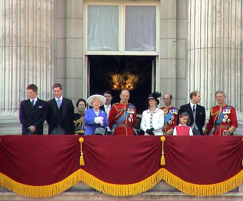 Inglaterra y su familia real