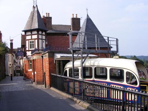 El viejo funicular de Bridgnorth