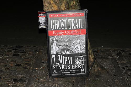 Ghost Trail York, paseo entre historias y fantasmas