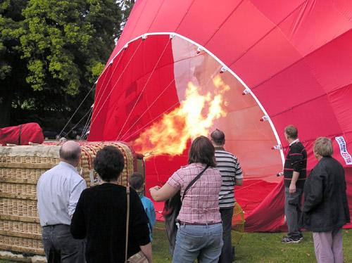 Volar en globo sobre Bath