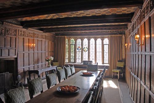 haddon hall interior