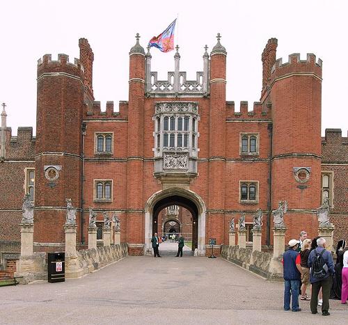 Hampton Court Palace, residencia de Enrique VIII