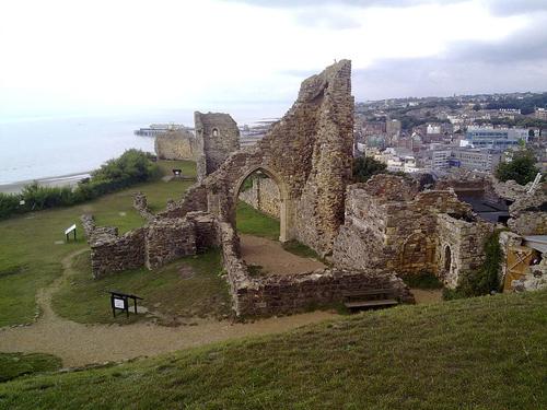 La ciudad costera de Hastings