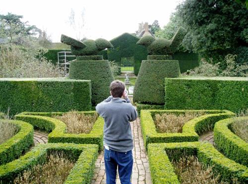 Hidcote Manor, un hermoso jardín inglés