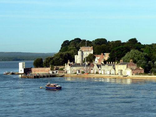 La Isla Brownsea, en Dorset