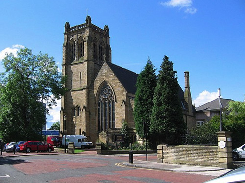 Iglesia parroquial de Jesmond en Newcastle