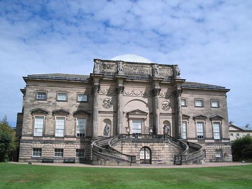 Kedleston Hall, una residencia señorial en Derbyshire
