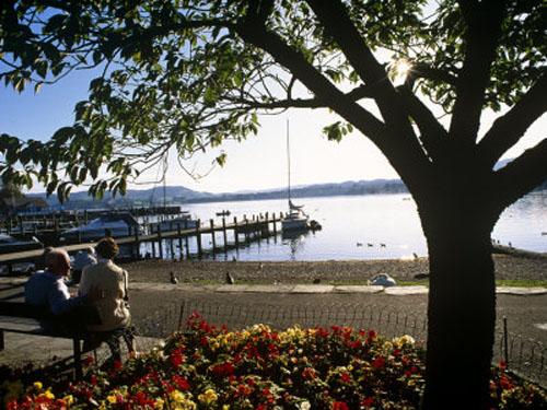 Windermere, el mas famoso de los lagos ingleses