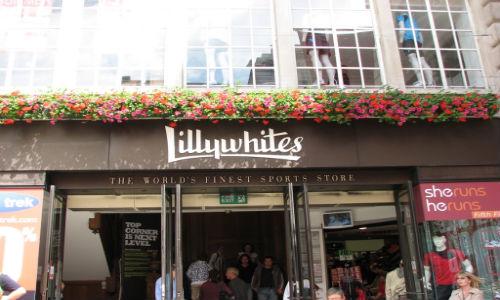 Un día de compras en LillyWhites