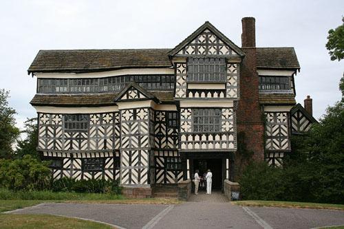 Little Moreton Hall, residencia del siglo XV
