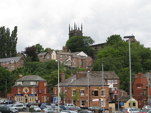 La comercial ciudad de Macclesfield