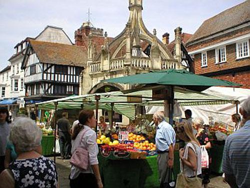 Charter, el mercado centenario de Salisbury