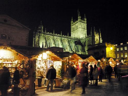 El Mercado de Navidad de Bath