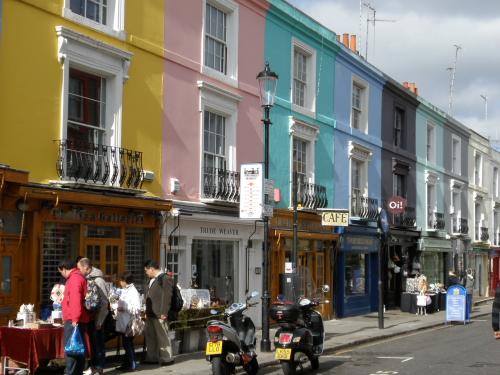 Tiendas de segunda mano en Notting Hill