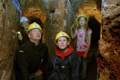 Los pasadizos subterráneos de Exeter