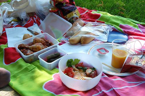 Lugares para celebrar un picnic