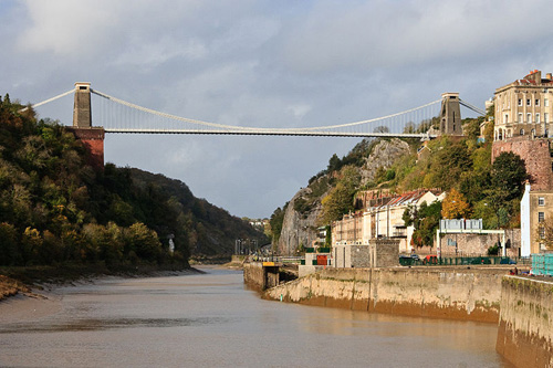 Clifton, el puente colgante de Bristol