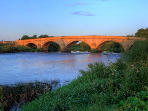 El puente medieval más largo de Inglaterra