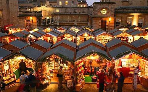 mercado de navidad de bath
