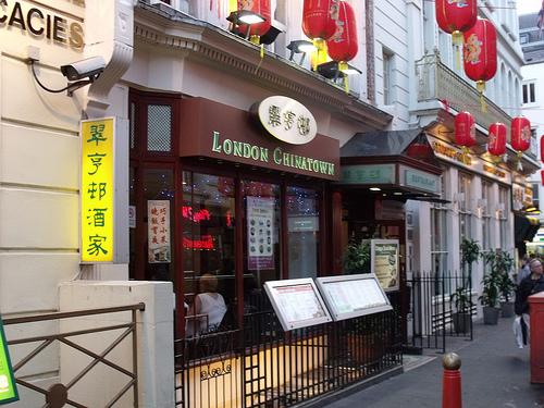 restaurante en chinatown