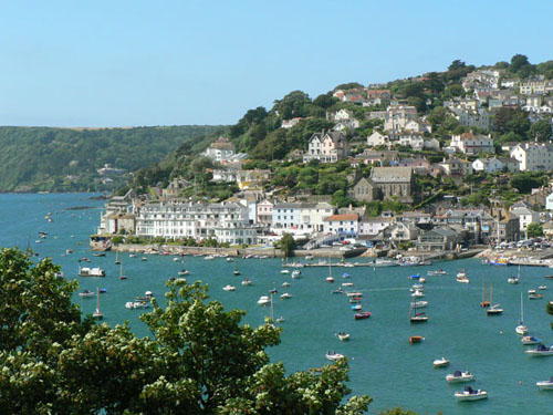 Salcombe, en la costa de Devon