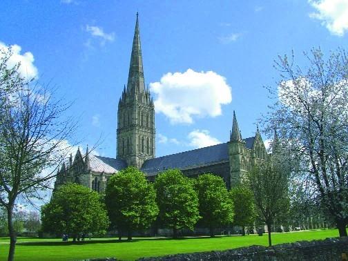 Salisbury, la ciudad de la gran catedral