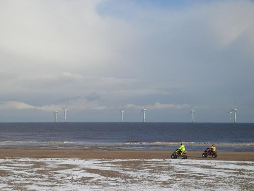 Skegness, la mejor playa sobre el Mar del Norte