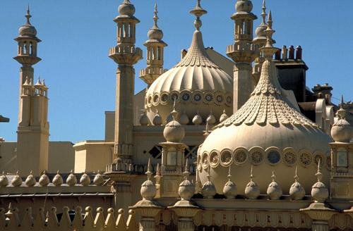 Royal Pavilion, lujo asiático en el sur de Inglaterra
