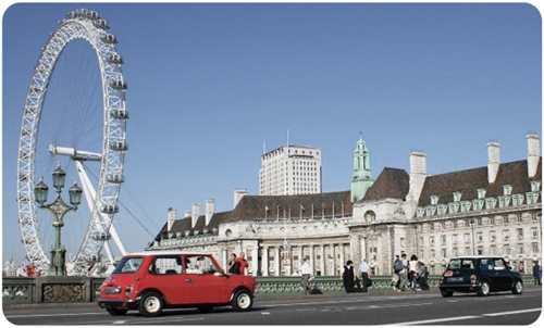Tours por Londres en Mini Cooper