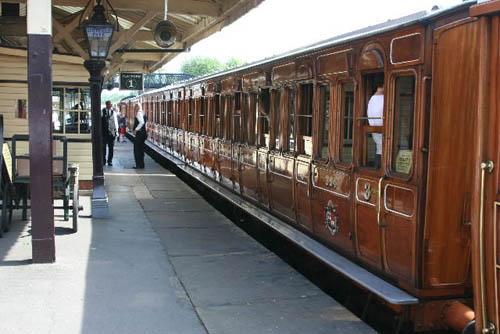 Bluebell, paseando en un tren centenario