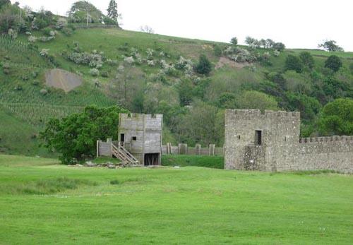 Vindolanda, recuerdo del Muro de Adriano