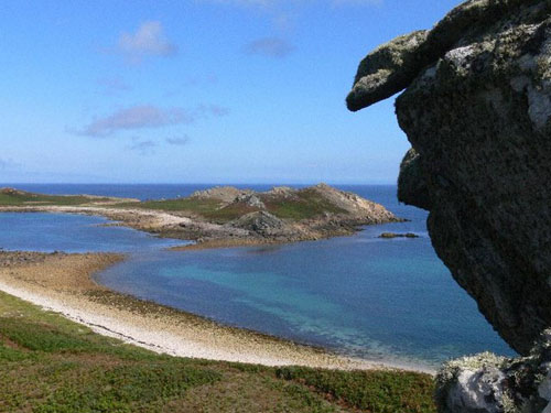 La Isla White, destino en Scilly