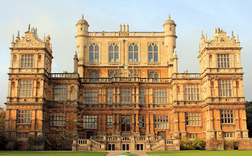 Wollaton Hall en Nottingham